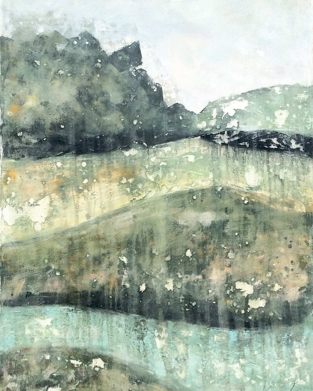 resin landscape